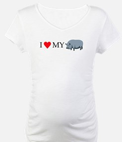 I Love My Pot Bellied Pig (1) Shirt