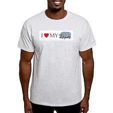 I heart my pot bellied pig T-Shirt