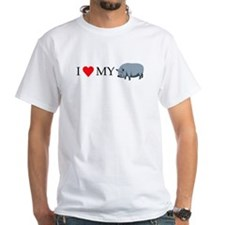 I Love My Pot Bellied Pig (1) Shirt
