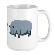 I heart my pot bellied pig Mug