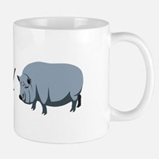 I Love My Pot Bellied Pig (1) Mug