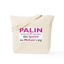 Lipstick Porker Tote Bag