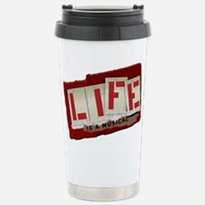 Musical Life Stainless Steel Travel Mug