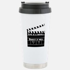 Life is a Movie Stainless Steel Travel Mug