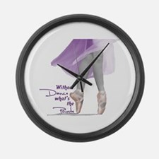 Pointe Large Wall Clock