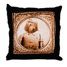Otterhound BUBBA Throw Pillow
