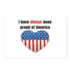 Proud of America Flag Postcards (Package of 8)
