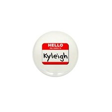 Hello my name is Kyleigh Mini Button (10 pack)