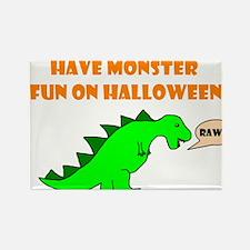 Cute Halloween due date Rectangle Magnet