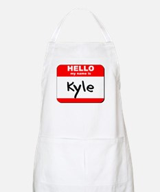 Hello my name is Kyle BBQ Apron