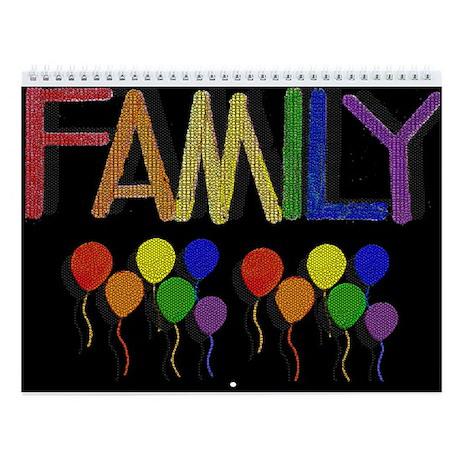 RAINBOW FAMILY/PRIDE Wall Calendar