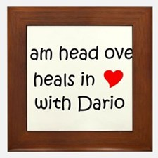 Cute Dario Framed Tile