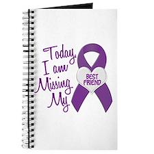 Missing My Best Friend 1 PURPLE Journal