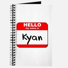 Hello my name is Kyan Journal