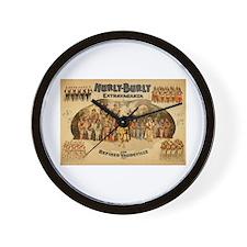 Hurly Burly Wall Clock