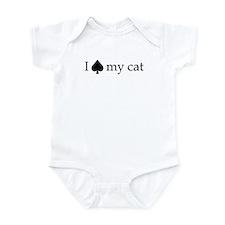 I spayed my cat Infant Bodysuit