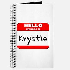Hello my name is Krystle Journal