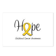 Childhood Cancer Hope Postcards (Package of 8)