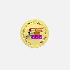 Super Student Books Mini Button