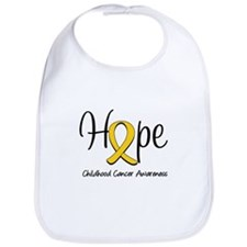 Childhood Cancer Hope Bib