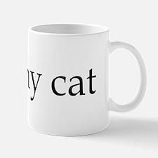 I spayed my cat Mug