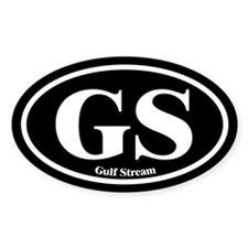 Gulf Stream GS Euro Oval Boat Oval Decal