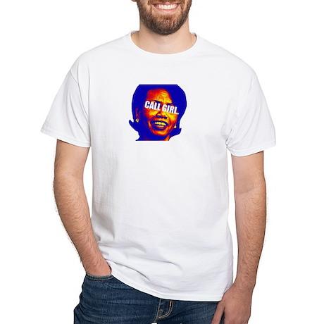 CONDI CALL GIRL White T-Shirt