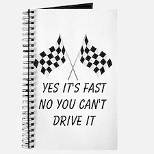 Race Car Driver Journal