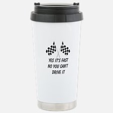 Race Car Driver Stainless Steel Travel Mug