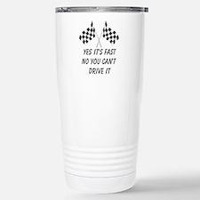 Race Car Driver Travel Mug