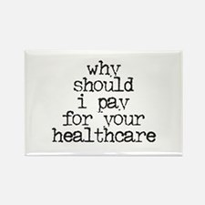 Cute Healthcare reform now Rectangle Magnet