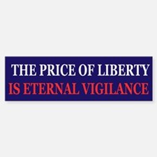 The price of Liberty Bumper Bumper Bumper Sticker