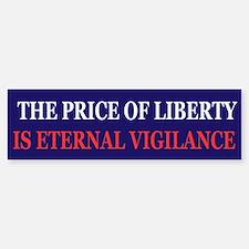 The price of Liberty Bumper Bumper Bumper Sticker