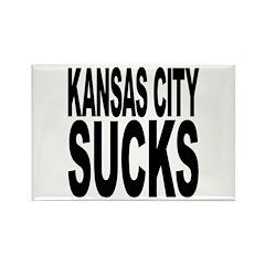 Kansas City Sucks Rectangle Magnet (100 pack)