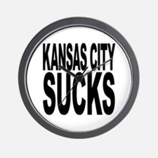 Kansas City Sucks Wall Clock