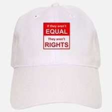 equal rights square v 2 Baseball Baseball Baseball Cap