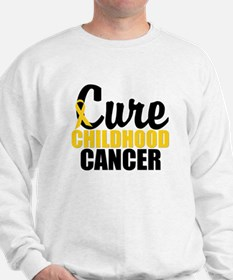 CureChildHoodCancer Sweatshirt