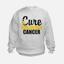 CureChildHoodCancer Sweatshirt