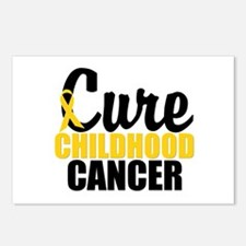 CureChildHoodCancer Postcards (Package of 8)