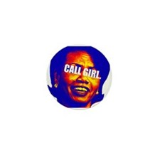 CONDI CALL GIRL Mini Button