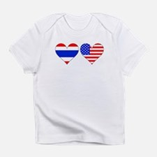 Thai American Hearts T-Shirt