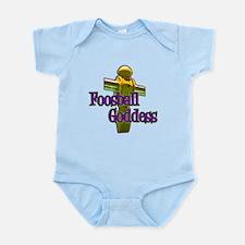 Foosball Goddess Infant Bodysuit