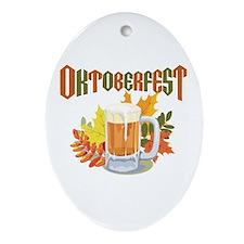 Oktoberfest Oval Ornament