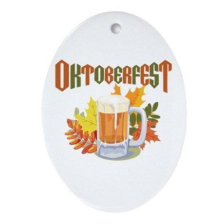 Oktoberfest Oval Ornament