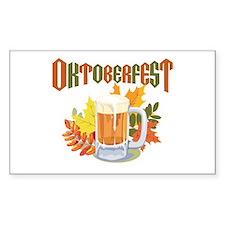 Oktoberfest Rectangle Decal