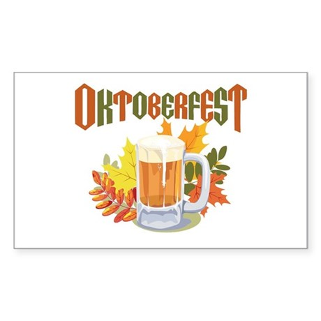 Oktoberfest Rectangle Sticker