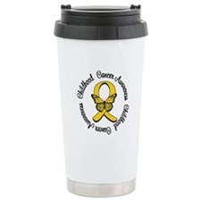 ChildhoodCancerButterfly Travel Mug