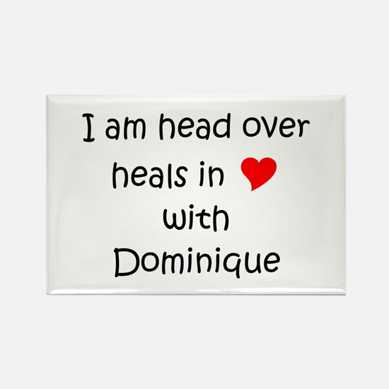 Funny Dominique Rectangle Magnet
