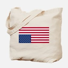 Inverted American Flag (Distress Signal) Tote Bag