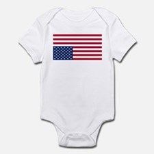 Inverted American Flag (Distress Signal) Infant Bo